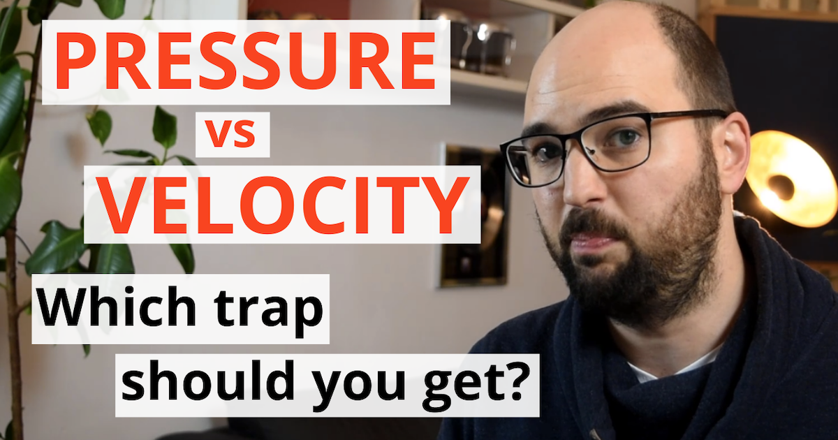 "acoustics insider blog post featured image ""pressure vs velocity. which bass trap should you get?"""