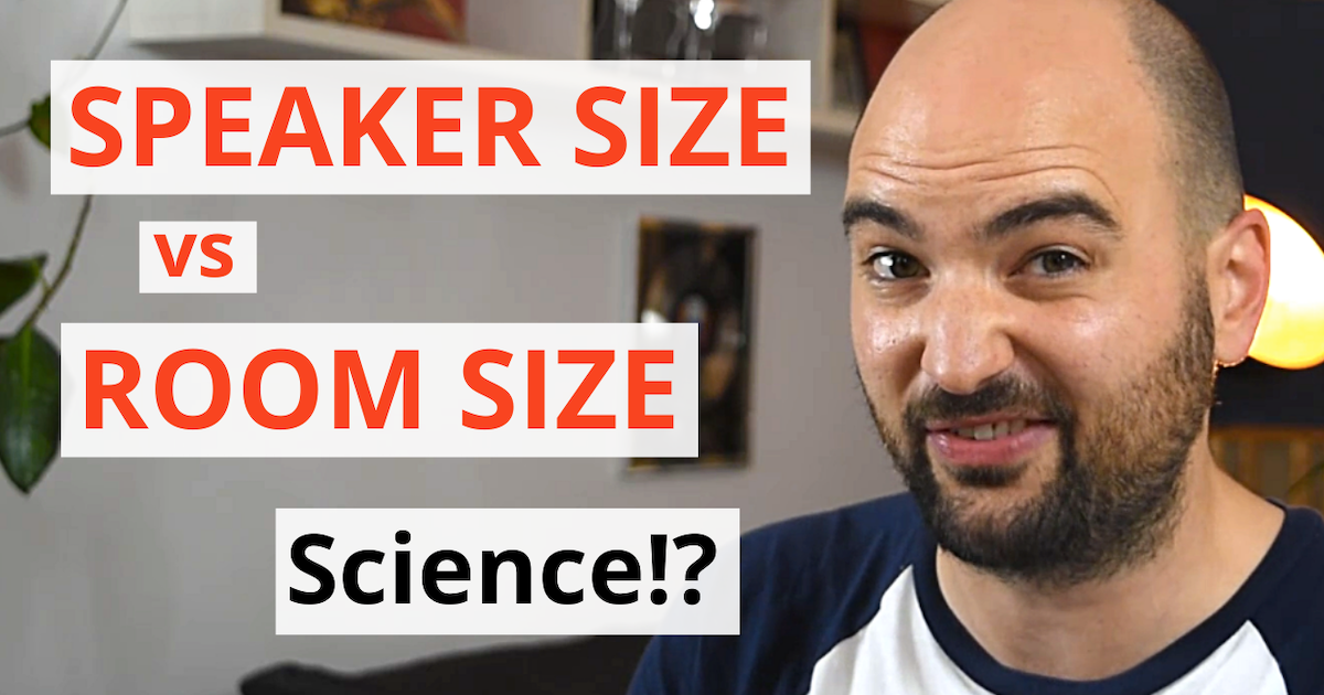 acoustics insider blog post features image speaker size vs room size looking at the science