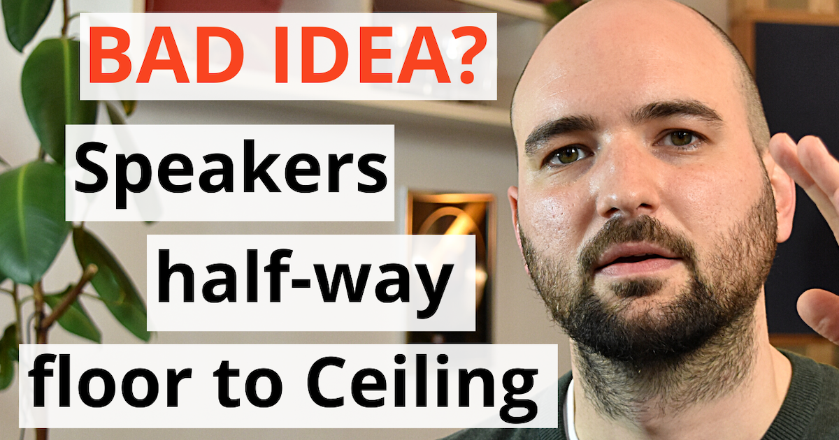 acoustics insider blog post featured image acoustics insider blog post featured image Is placing your speakers half-way between floor and ceiling a bad idea