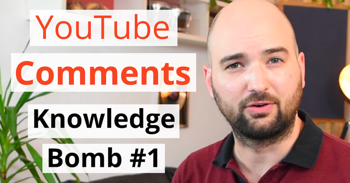 acoustics insider blog post featured image youtube comments QNA knowledge bomb 01