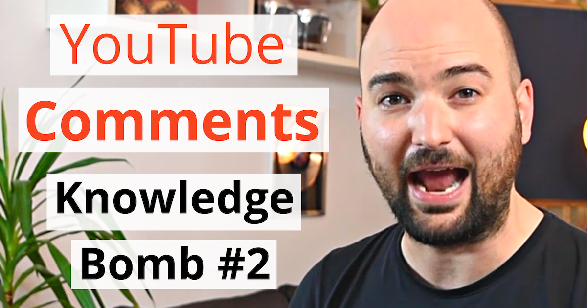 acoustics insider blog post featured image youtube comments QNA knowledge bomb 02