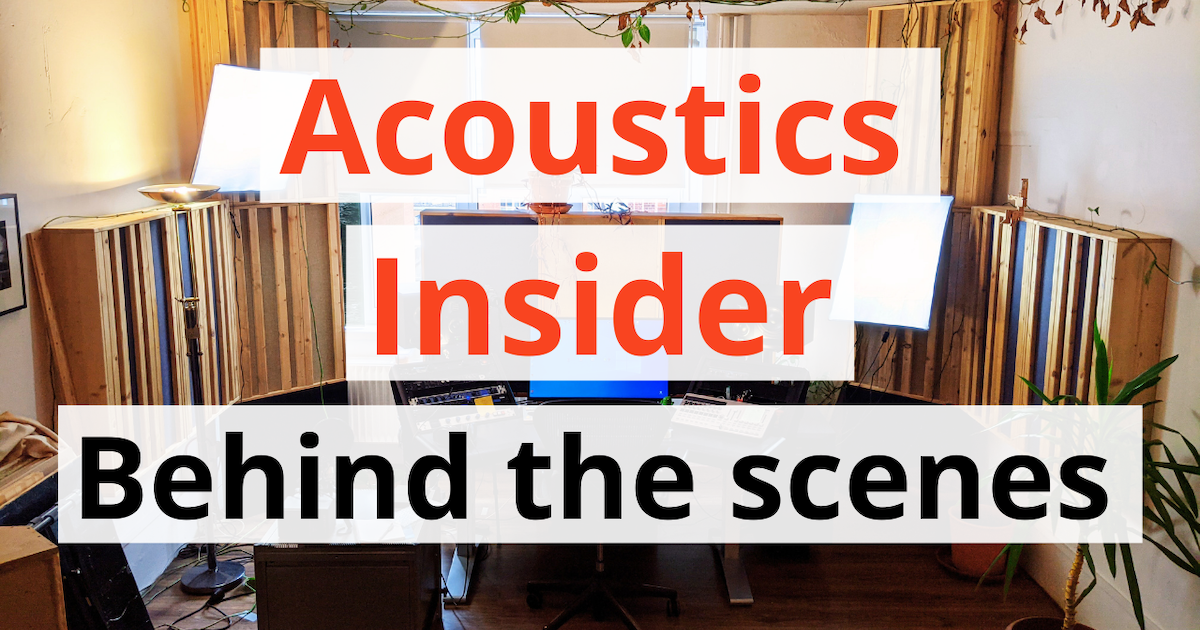acoustics insider blog post featured image behind the scenes studio tour